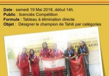 Championnats de Tahiti Juniors - 19.05.18